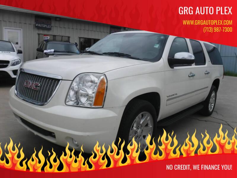 2014 GMC Yukon XL for sale at GRG Auto Plex in Houston TX