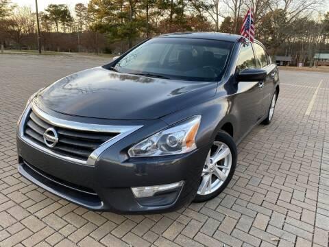 2013 Nissan Altima for sale at JES Auto Sales LLC in Fairburn GA