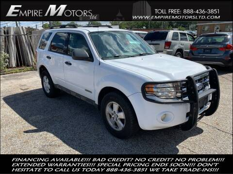 2008 Ford Escape for sale at Empire Motors LTD in Cleveland OH