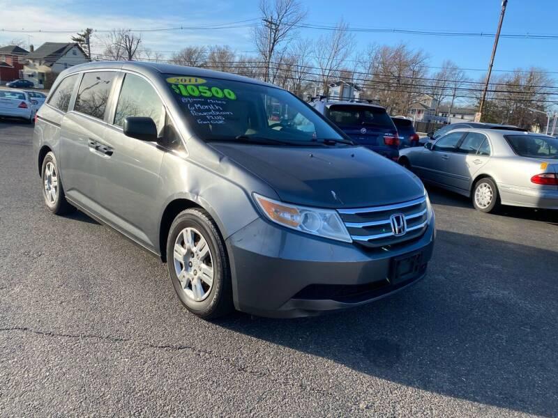 2011 Honda Odyssey for sale at Union Avenue Auto Sales in Hazlet NJ
