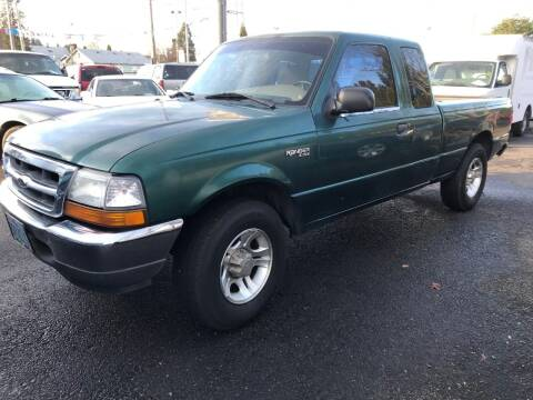 2000 Ford Ranger for sale at Chuck Wise Motors in Portland OR