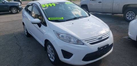 2011 Ford Fiesta for sale at TC Auto Repair and Sales Inc in Abington MA
