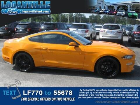 2018 Ford Mustang for sale at Loganville Quick Lane and Tire Center in Loganville GA