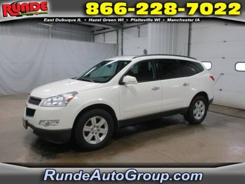 2010 Chevrolet Traverse for sale at Runde Chevrolet in East Dubuque IL