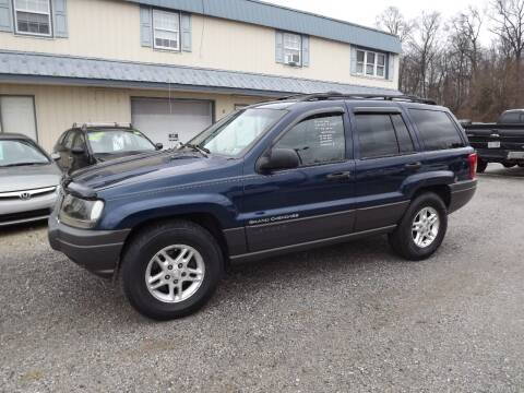 2002 Jeep Grand Cherokee for sale at Country Side Auto Sales in East Berlin PA