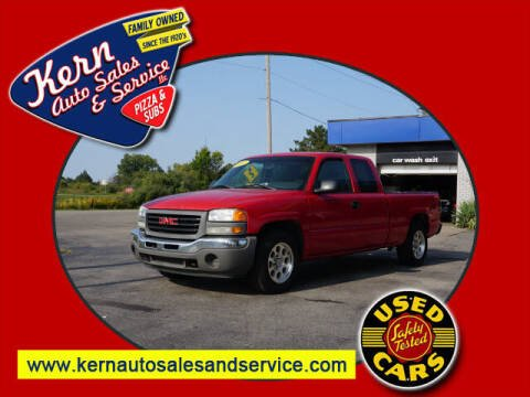 2007 GMC Sierra 1500 Classic for sale at Kern Auto Sales & Service LLC in Chelsea MI