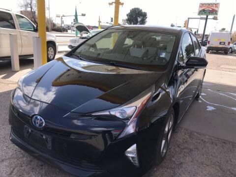 2017 Toyota Prius for sale at Fiesta Motors Inc in Las Cruces NM