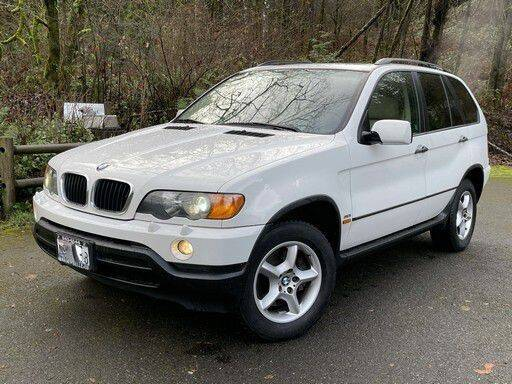 2001 BMW X5 for sale at Halo Motors in Bellevue WA