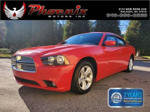 2014 Dodge Charger for sale at Phoenix Motors Inc in Raleigh NC