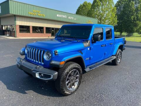 2020 Jeep Gladiator for sale at Martin's Auto in London KY