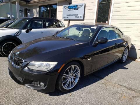 2011 BMW 3 Series for sale at M & A Motors LLC in Marietta GA