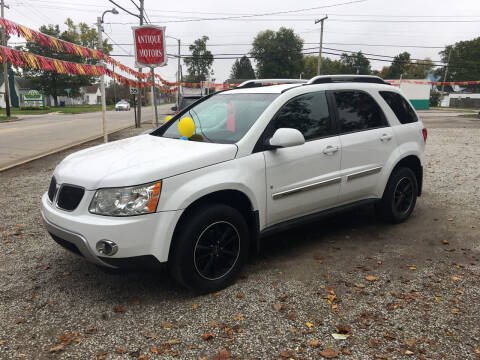 2008 Pontiac Torrent for sale at Antique Motors in Plymouth IN