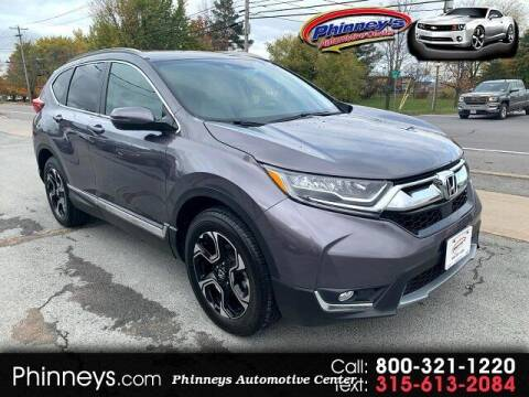 2018 Honda CR-V for sale at Phinney's Automotive Center in Clayton NY