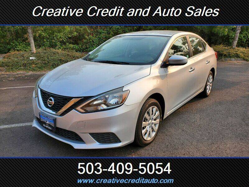 2016 Nissan Sentra for sale at Creative Credit & Auto Sales in Salem OR
