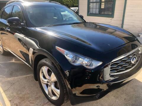 2010 Infiniti FX35 for sale at S & J Auto Group in San Antonio TX