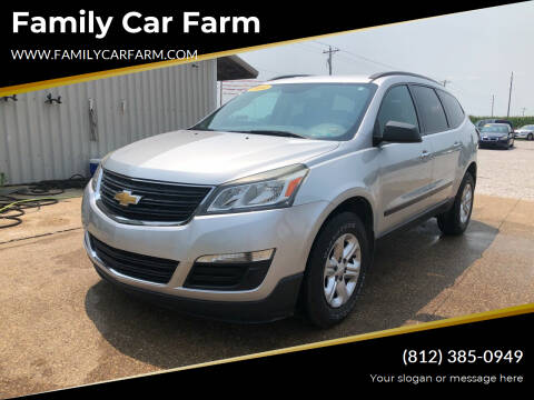 2014 Chevrolet Traverse for sale at Family Car Farm in Princeton IN