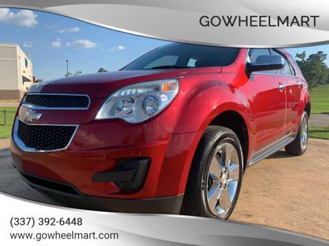 2015 Chevrolet Equinox for sale at GOWHEELMART in Leesville LA