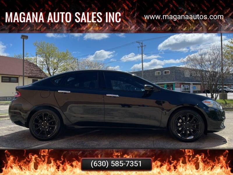 2013 Dodge Dart for sale at Magana Auto Sales Inc in Aurora IL