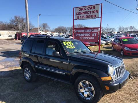 2006 Jeep Liberty for sale at OKC CAR CONNECTION in Oklahoma City OK