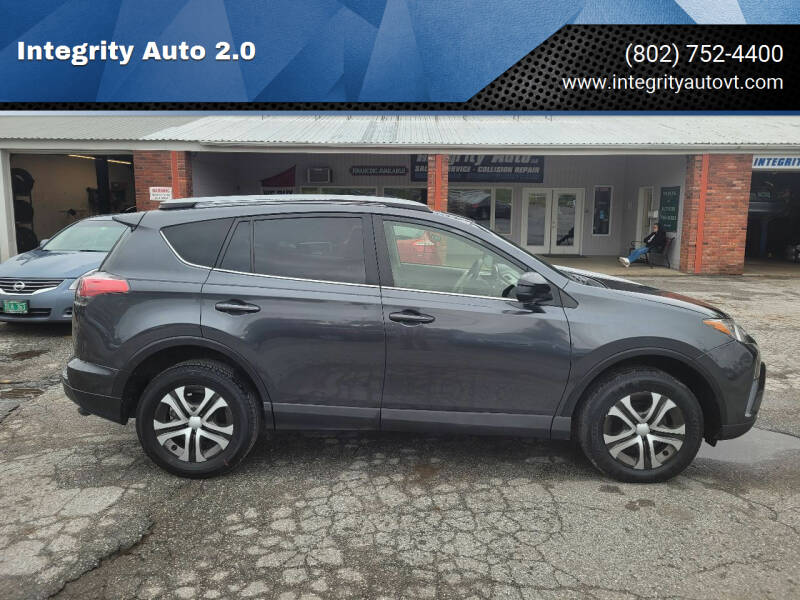 2017 Toyota RAV4 for sale at Integrity Auto 2.0 in Saint Albans VT