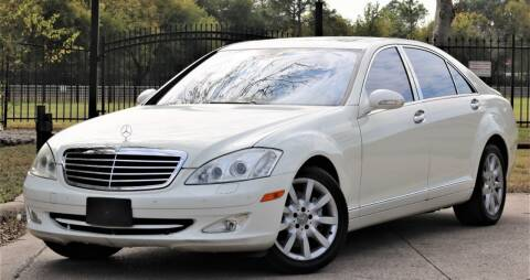 2008 Mercedes-Benz S-Class for sale at Texas Auto Corporation in Houston TX
