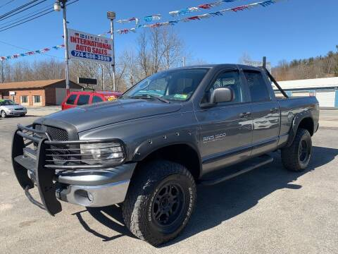 2005 Dodge Ram Pickup 1500 for sale at INTERNATIONAL AUTO SALES LLC in Latrobe PA