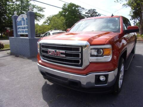 2015 GMC Sierra 1500 for sale at Good To Go Auto Sales in Mcdonough GA