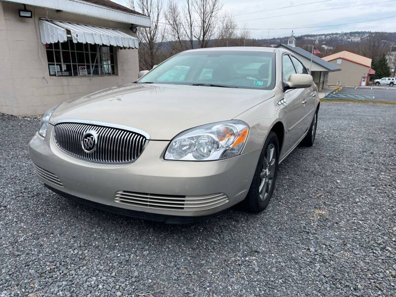 2008 Buick Lucerne for sale at JM Auto Sales in Shenandoah PA