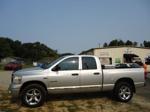 2008 Dodge Ram Pickup 1500 for sale at Street Source Auto LLC in Hickory NC