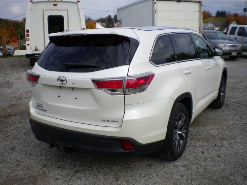 2016 Toyota Highlander AWD XLE 4dr SUV - Barnesville OH