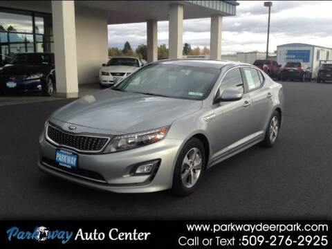 2015 Kia Optima Hybrid for sale at PARKWAY AUTO CENTER AND RV in Deer Park WA