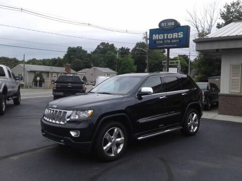 2013 Jeep Grand Cherokee for sale at Route 106 Motors in East Bridgewater MA