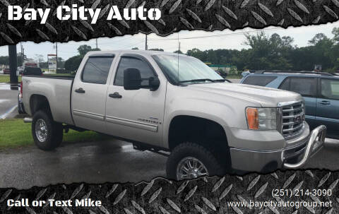 2007 GMC Sierra 2500HD for sale at Bay City Auto's in Mobile AL