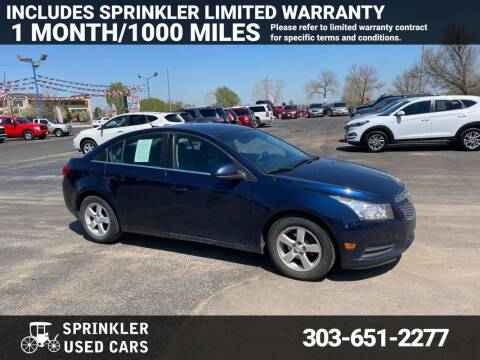 2011 Chevrolet Cruze for sale at Sprinkler Used Cars in Longmont CO