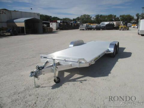 2022 Aluma Car Hauler 8220TA-EL-R-RTD for sale at Rondo Truck & Trailer in Sycamore IL