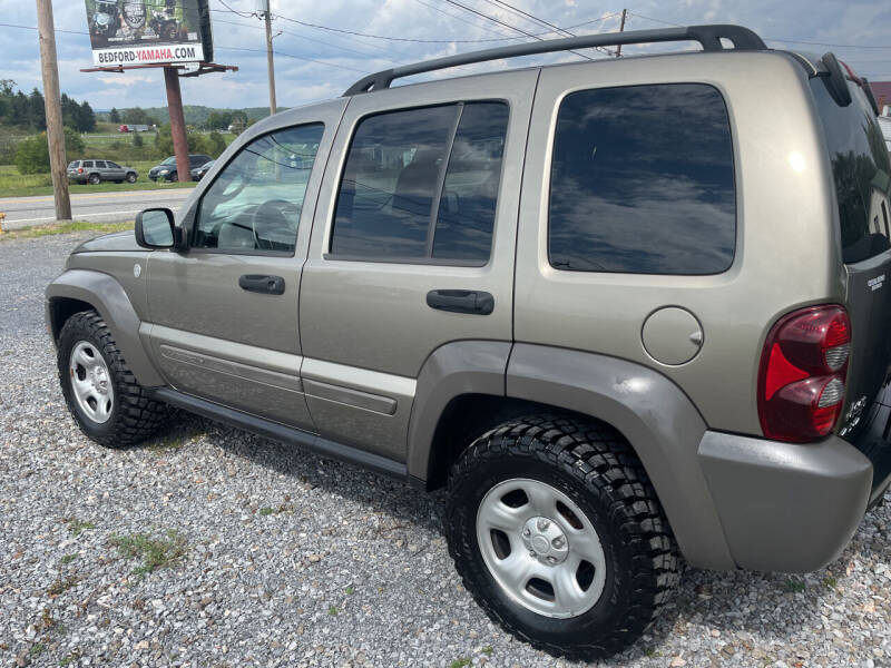 2007 Jeep Liberty for sale at CESSNA MOTORS INC in Bedford PA