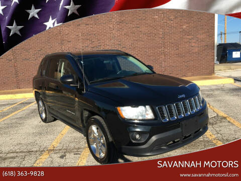 2012 Jeep Compass for sale at Savannah Motors in Cahokia IL
