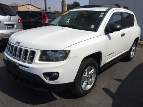 2015 Jeep Compass for sale at Auto Max of Ventura in Ventura CA