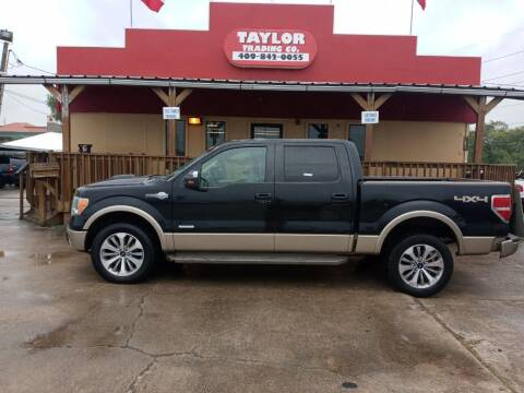 2012 Ford F-150 for sale at Taylor Trading Co in Beaumont TX