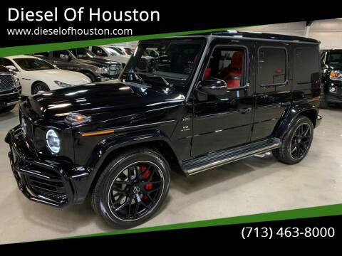 2020 Mercedes-Benz G-Class for sale at Diesel Of Houston in Houston TX