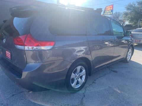 2011 Toyota Sienna for sale at FAIR DEAL AUTO SALES INC in Houston TX