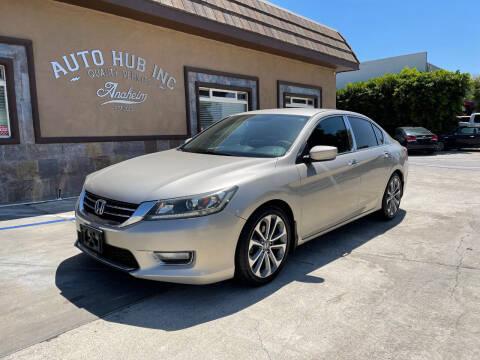 2014 Honda Accord for sale at Auto Hub, Inc. in Anaheim CA
