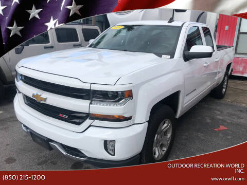 2017 Chevrolet Silverado 1500 for sale at Outdoor Recreation World Inc. in Panama City FL