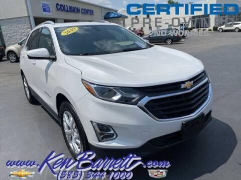 2019 Chevrolet Equinox for sale at KEN BARRETT CHEVROLET CADILLAC in Batavia NY