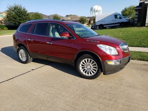 2010 Buick Enclave for sale at El Jasho Motors in Grand Prairie TX