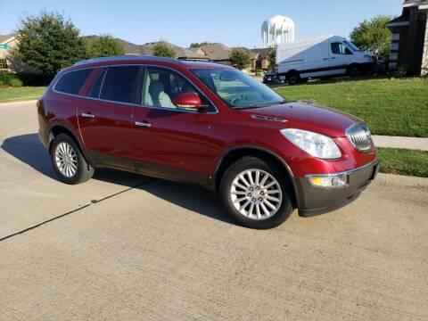 2010 Buick Enclave for sale at El Jasho Motors in Grand Prairie TX