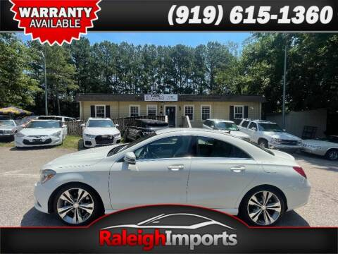 2014 Mercedes-Benz CLA for sale at Raleigh Imports in Raleigh NC