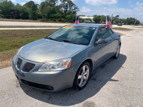 2007 Pontiac G6 for sale at EXECUTIVE CAR SALES LLC in North Fort Myers FL