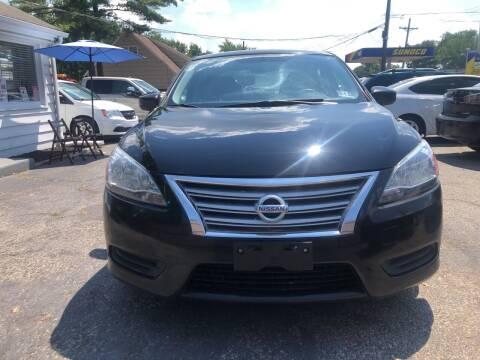 2014 Nissan Sentra for sale at SuperBuy Auto Sales Inc in Avenel NJ