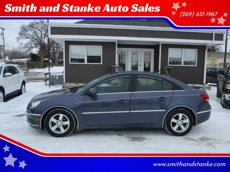 2014 Chevrolet Cruze for sale at Smith and Stanke Auto Sales in Sturgis MI